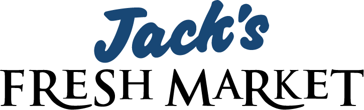 A theme logo of Jack's Fresh Market